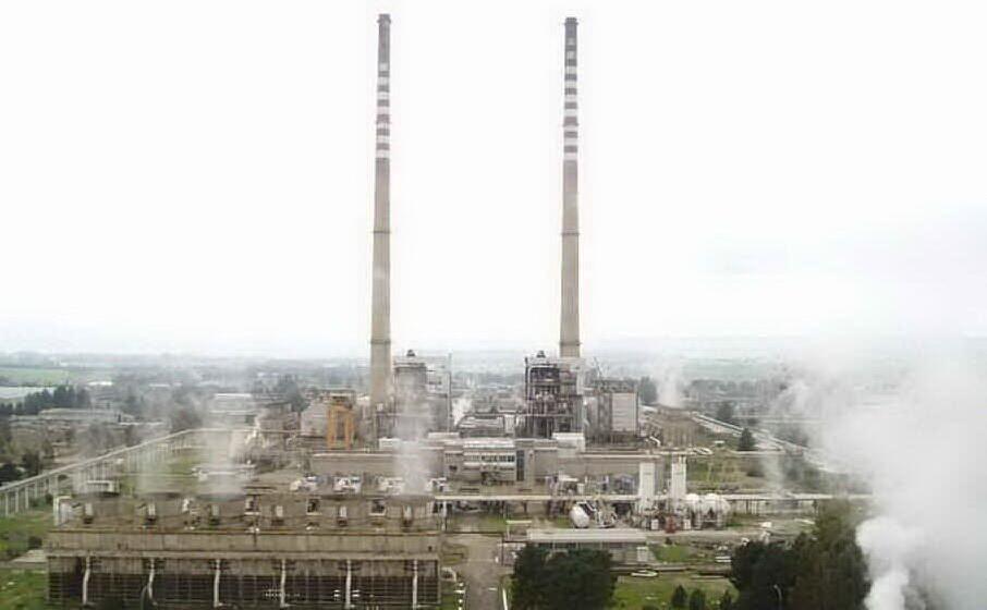 la centrale elettrica di ottana (archivio l unione sarda)
