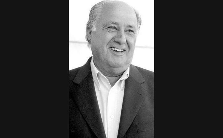 lo spagnolo amancio ortega fondatore del marchio di abbigliamento zara sesto