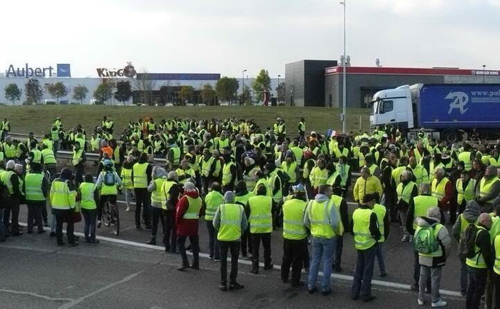 una protesta a vesoul nell est della francia (foto wikipedia)