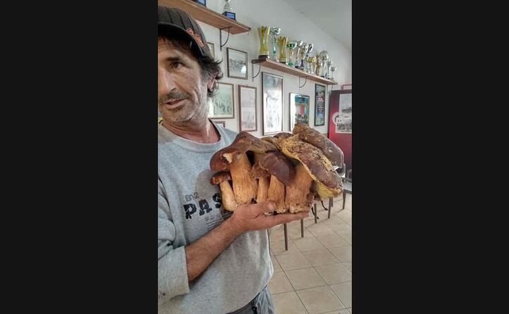 lo scatto di mirko biggio trovato a portoscuso 3 chili e 600