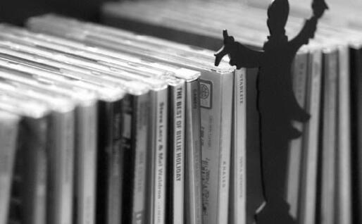 Una collezione di compact disc (Archivio L'Unione Sarda)