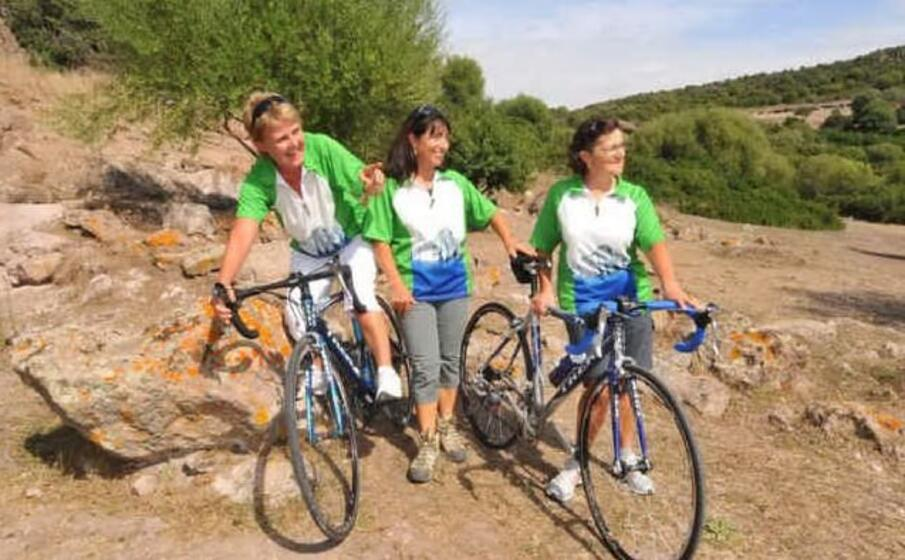cicloturismo nel sulcis (archivio l unione sarda)