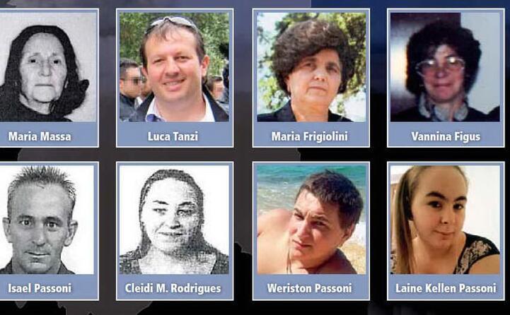 gli altri otto morti