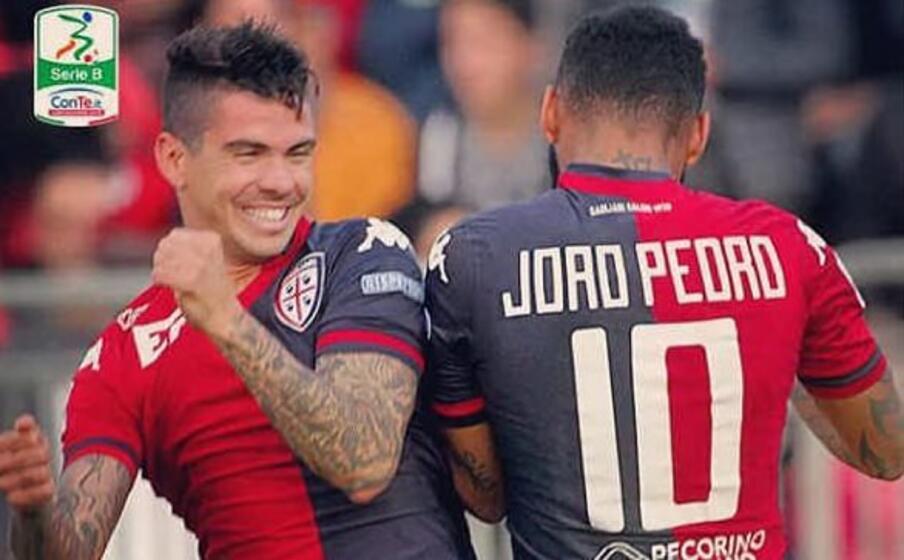 i due brasiliani esultano insieme ai tempi della b