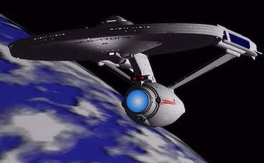 L'enterprise (Archivio L'Unione Sarda)