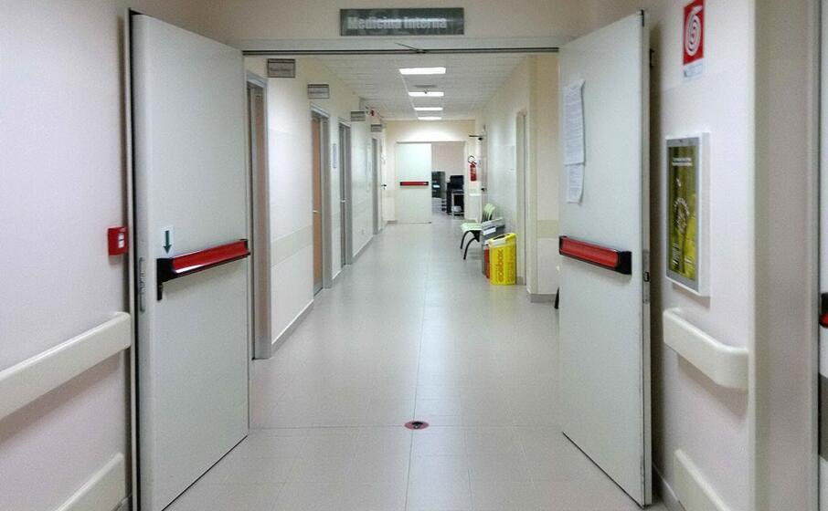 l interno dell ospedale giovanni paolo ii di olbia (archivio l unione sarda satta)