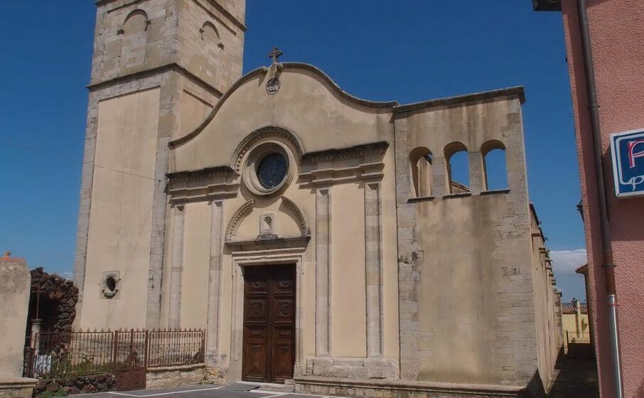 la chiesa parrocchiale di mogoro (foto antonio pintori)