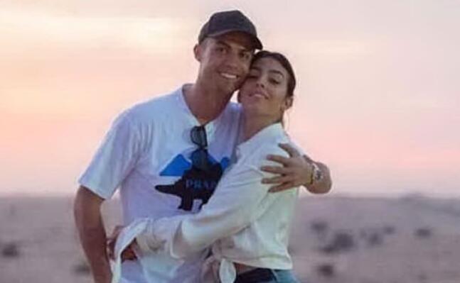 cristiano ronaldo e georgina rodriguez (foto instagram)