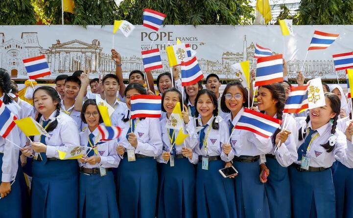giovani studenti thailandesi