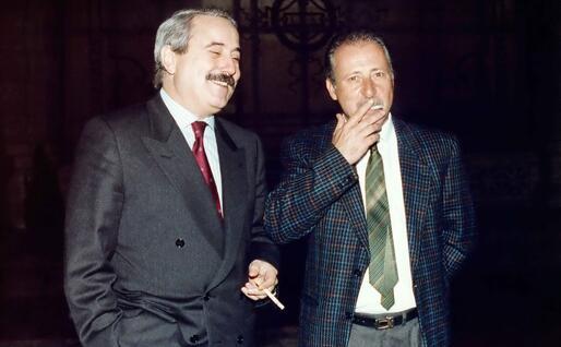 Giovanni Falcone e Paolo Borsellino (Ansa)