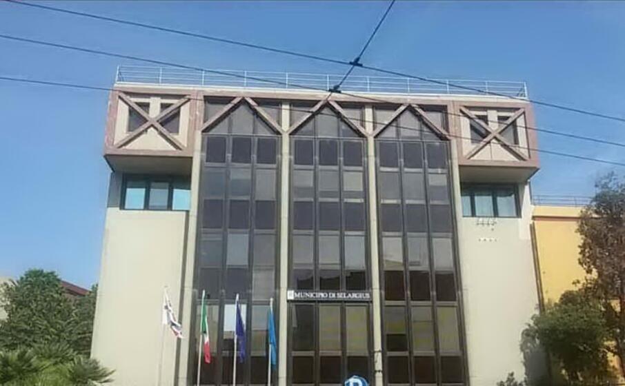 il municipio di selargius (foto comune di selargius)