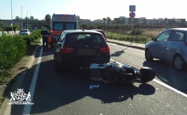 l incidente (foto polizia municipale)
