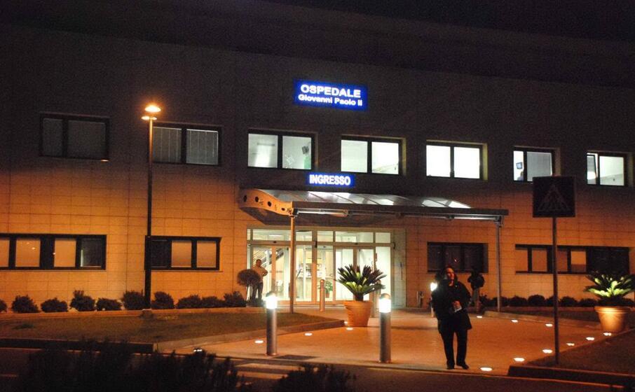 l ingresso dell ospedale (archivio l unione sarda satta)
