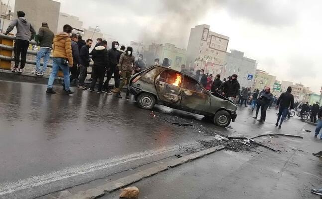 le proteste in iran (ansa stringer)