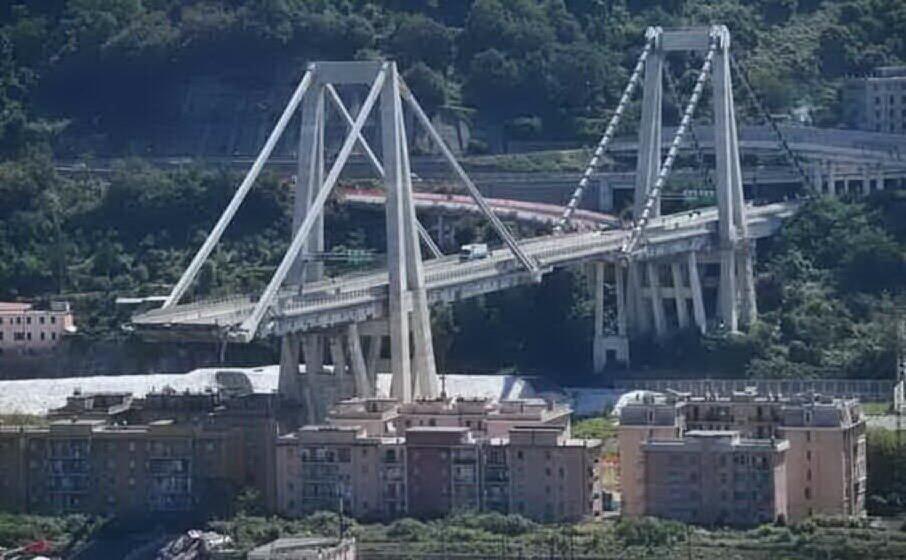 il ponte morandi (archivio l unione sarda)