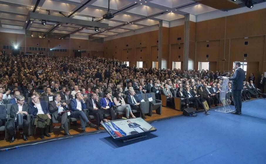 l assemblea anci ad arezzo (foto palazzo chigi)