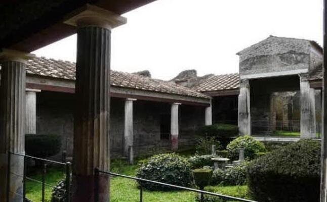 la casa degli amorini dorati (foto da sito ufficiale pompei)
