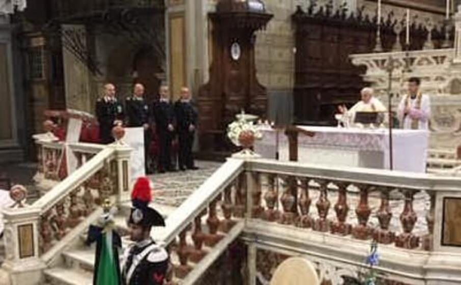 la cerimonia in cattedrale (foto elia sanna)