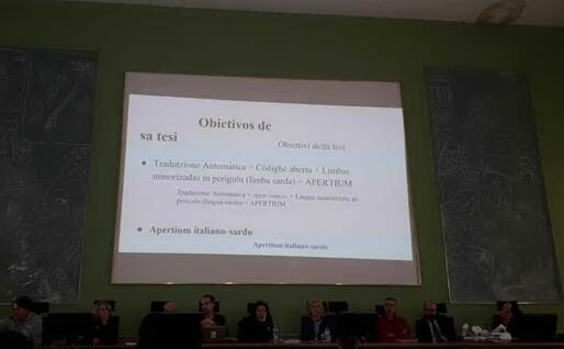 La presentazione della tesi di laurea