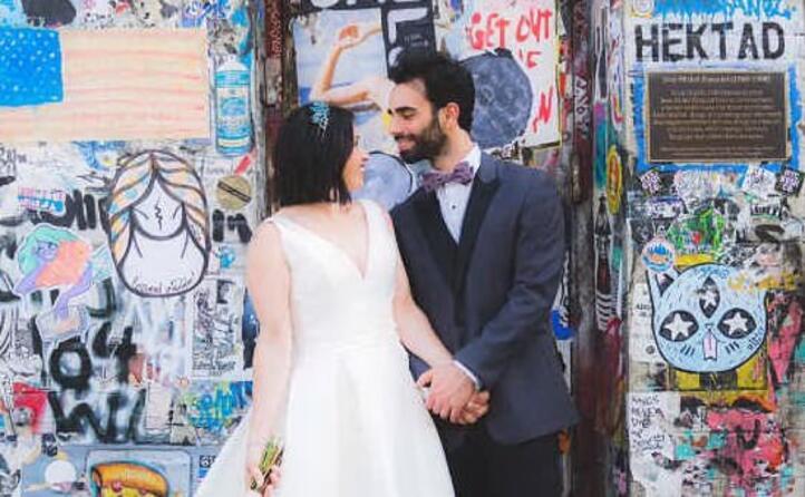 daniele piludu traferitosi da cagliari a new york nel giorno delle sue nozze con nathalie
