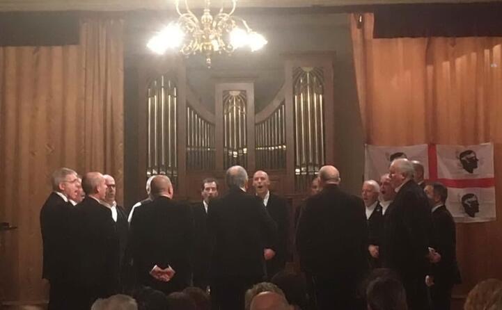 il coro baronia di torp ospite a budapest per una rappresentazione musicale