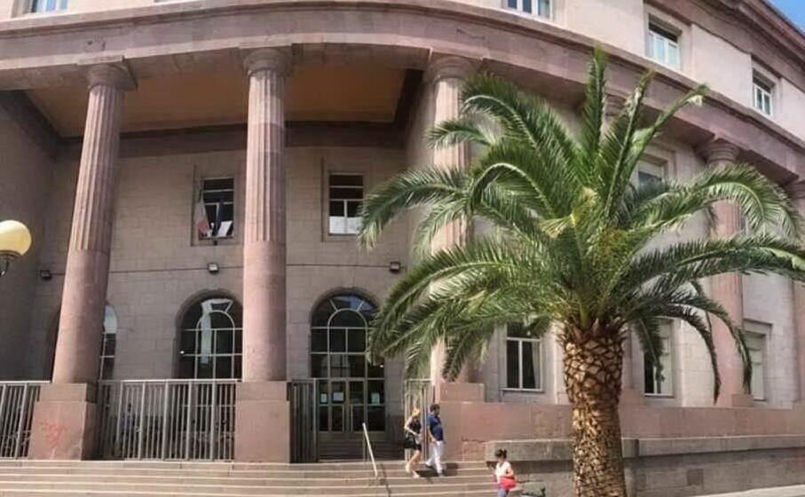 il tribunale di sassari (archivio l unione sarda)