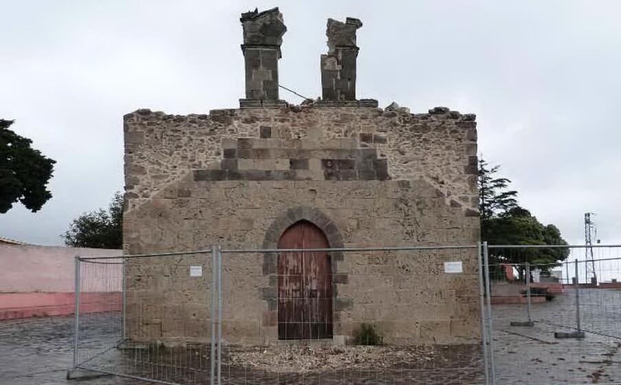 la chiesetta di san pietro (foto a serreli)
