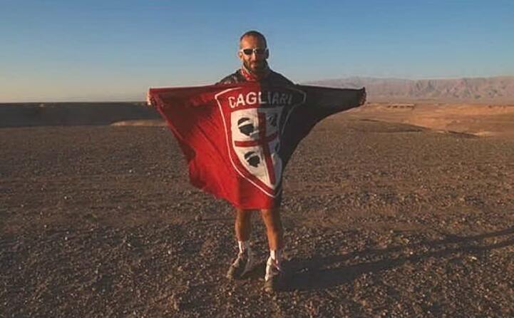 samuele perez ultramaratoneta cagliaritano nel deserto del lut (iran)