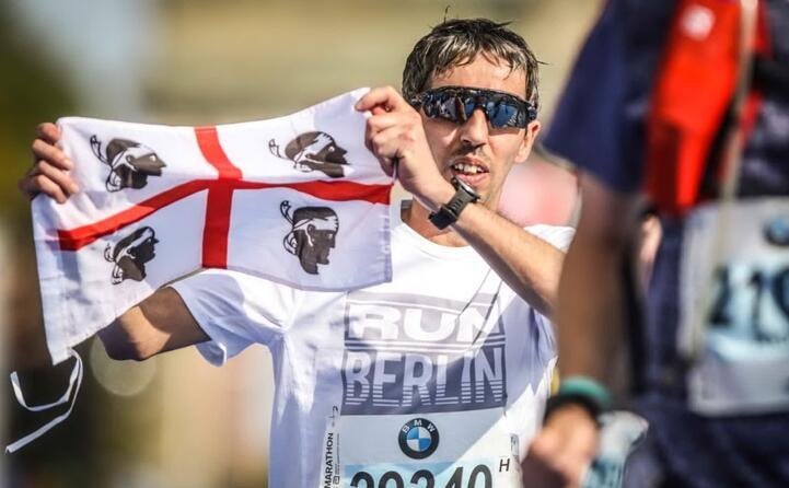 alessandro congia di sanluri alla berlin marathon