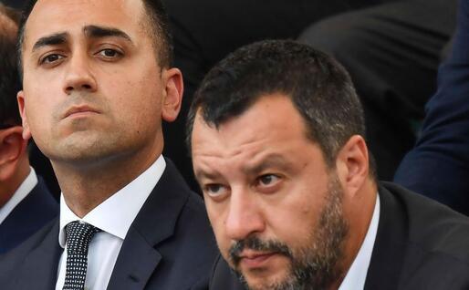 Di Maio e Salvini (Ansa)