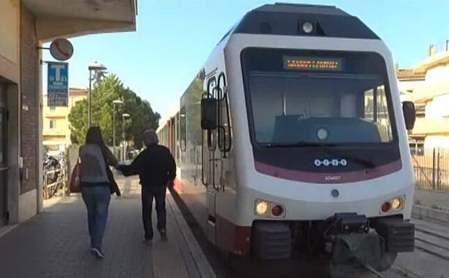 il treno sassari alghero (frame da videolina)
