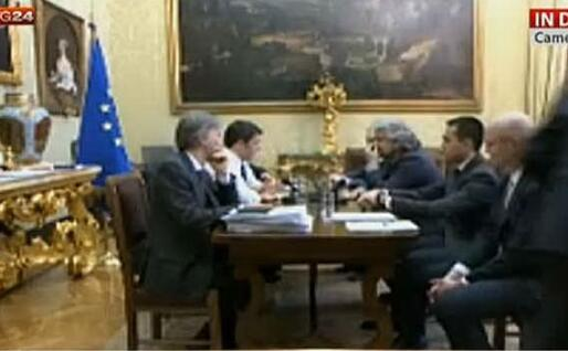 Renzi Grillo, il confronto in streaming