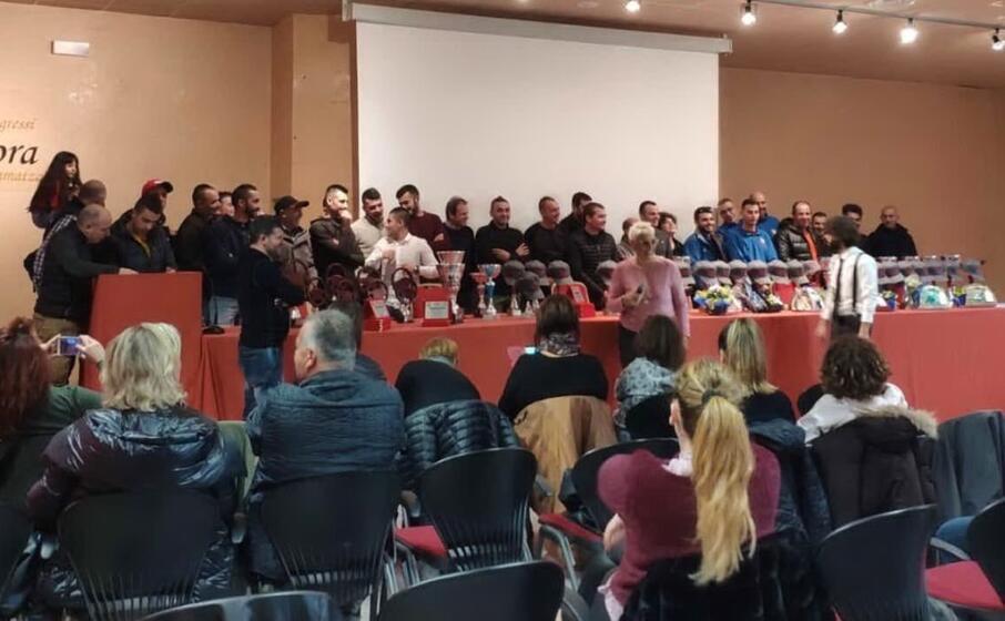 le premiazioni del campionato regionale acisport slalom (l unione sarda foto chessa)