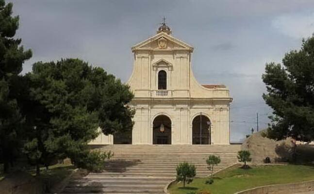 il santuario di bonaria (archivio l unione sarda)