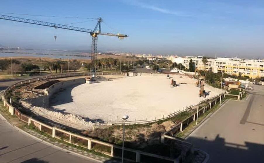 l area dove doveva sorgere l eurospin (foto g daga)