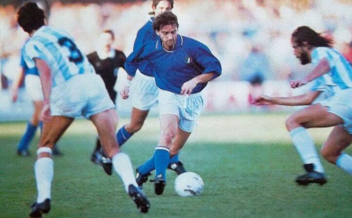 italia argentina mancini in dribbling