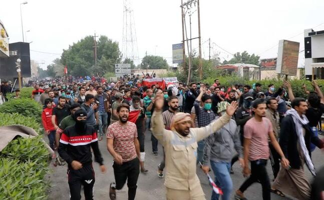 le proteste a nassiriya (ansa al assadee)