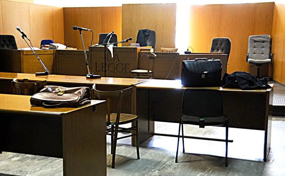 un aula del tribunale di oristano (archivio l unione sarda chergia)