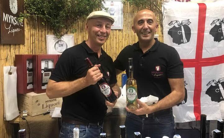 giovanni agus e cosimo mameli della myrsine liquori