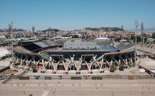 lo stadio sant elia (archivio l unione sarda ungari)