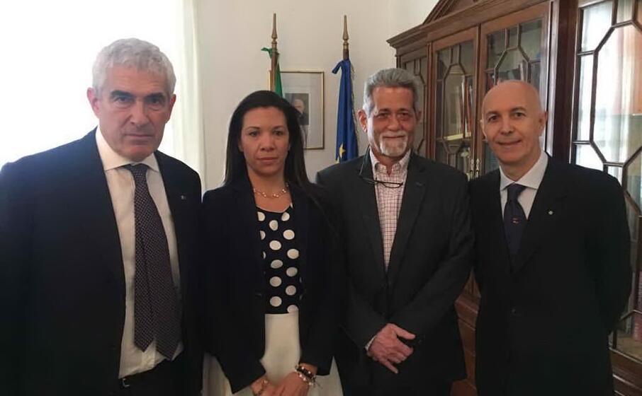 I due deputati venezuelani che l'Italia ha salvato dal carcere