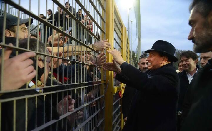 Berlusconi ai tifosi: