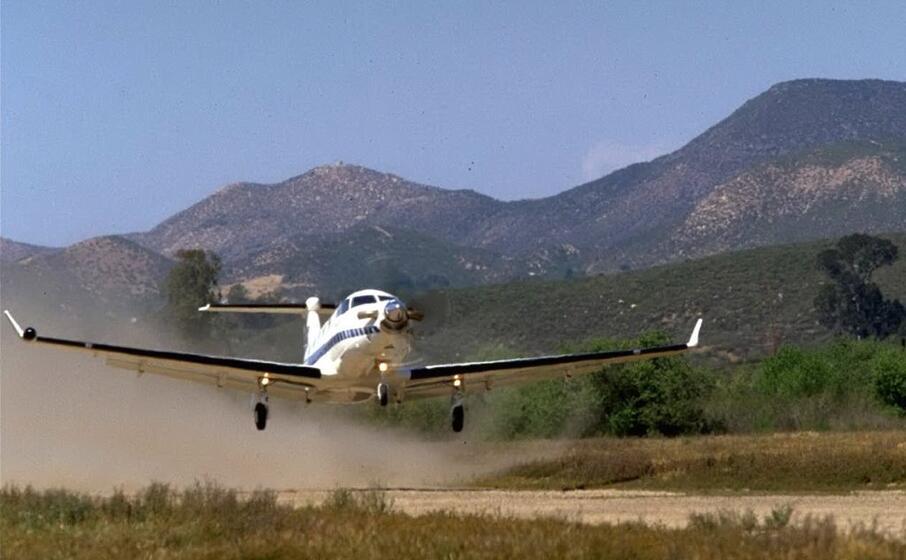 Un Pilatus PC-12