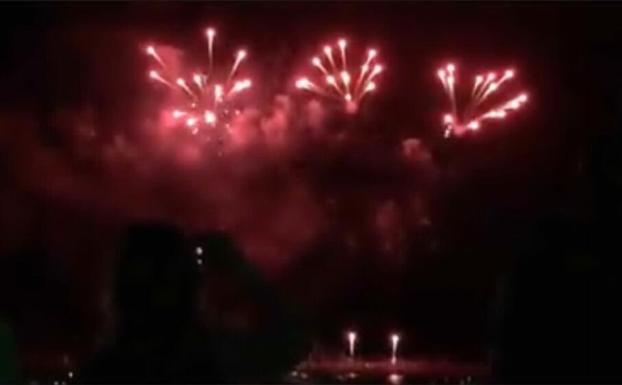 fuochi d artificio (l unione sarda sanna)