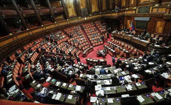 l aula del senato (foto archivio l unione sarda)