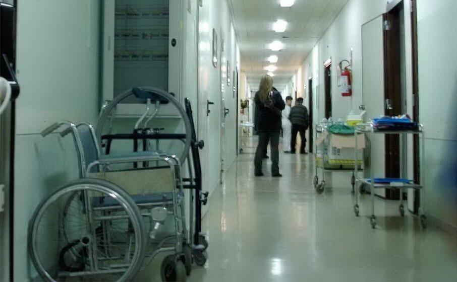 la corsia di un ospedale
