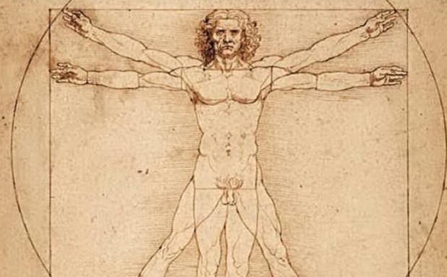 L'Uomo Vitruviano è un algoritmo segreto: contiene la formula della divina proporzione