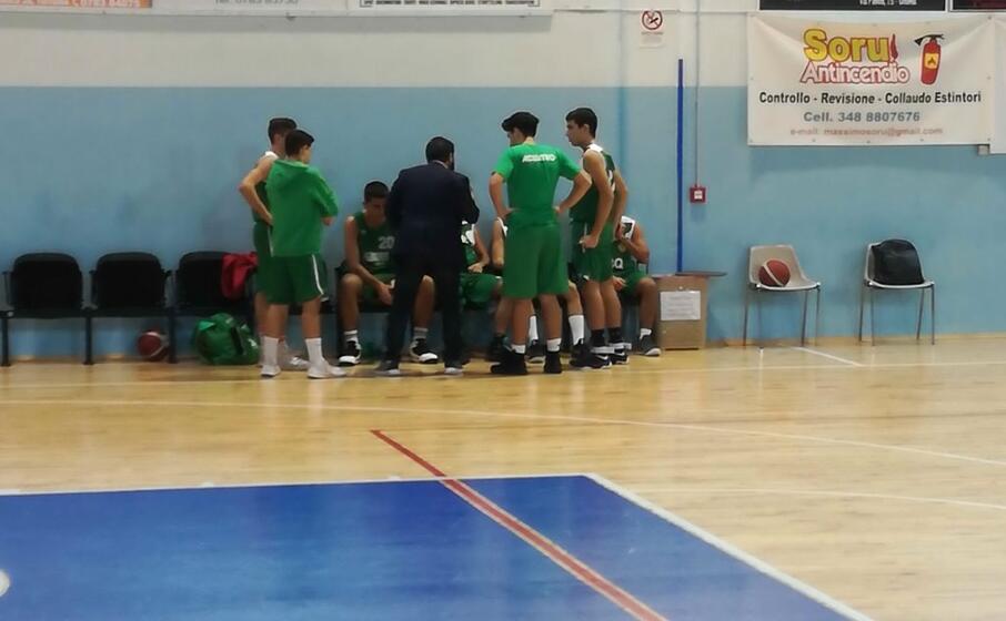 time out basket quartu (foto giacomo pala)