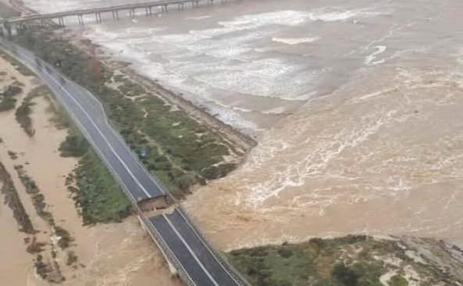 gli effetti di una delle ultime alluvioni che ha colpito il sud sardegna (archivio l unione sarda)