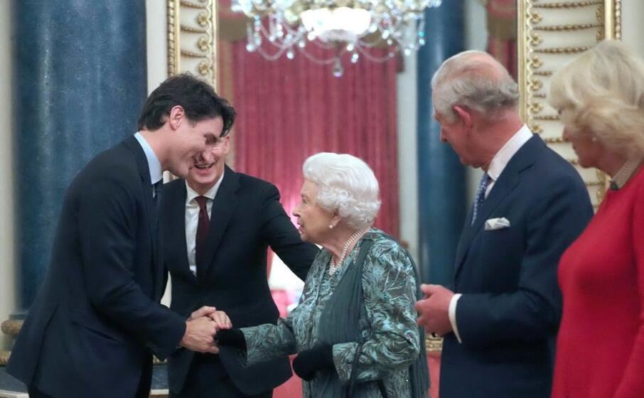 con il premier canadese justin trudeau